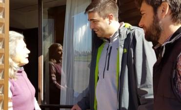 """Bruno Cenizo:Para continuar avanzando debemos seguir oyendo a los vecinos"""""""