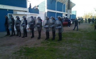 Incidentes tras el Racing - Ferro