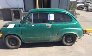 Recuperan en Azul un auto robado en Sierras Bayas