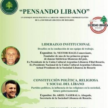 Charla en la Sociedad Libanesa