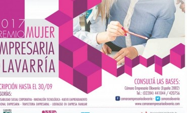 Inscripción al Premio Mujer Empresaria 2017