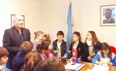 Alumnos de San Antonio visitaron el Concejo Deliberante