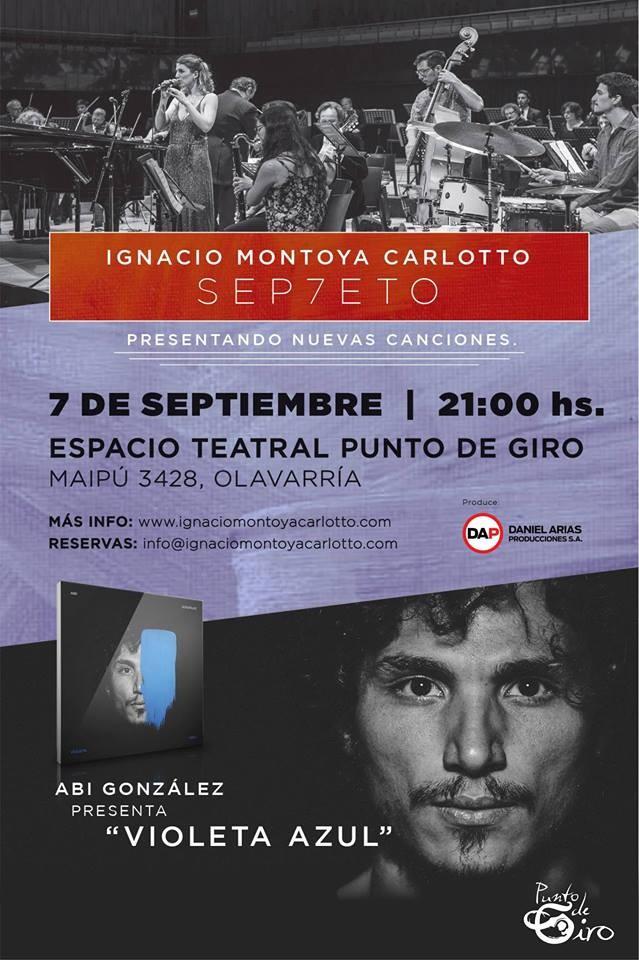 Ignacio Montoya Carlotto se presenta en Olavarría