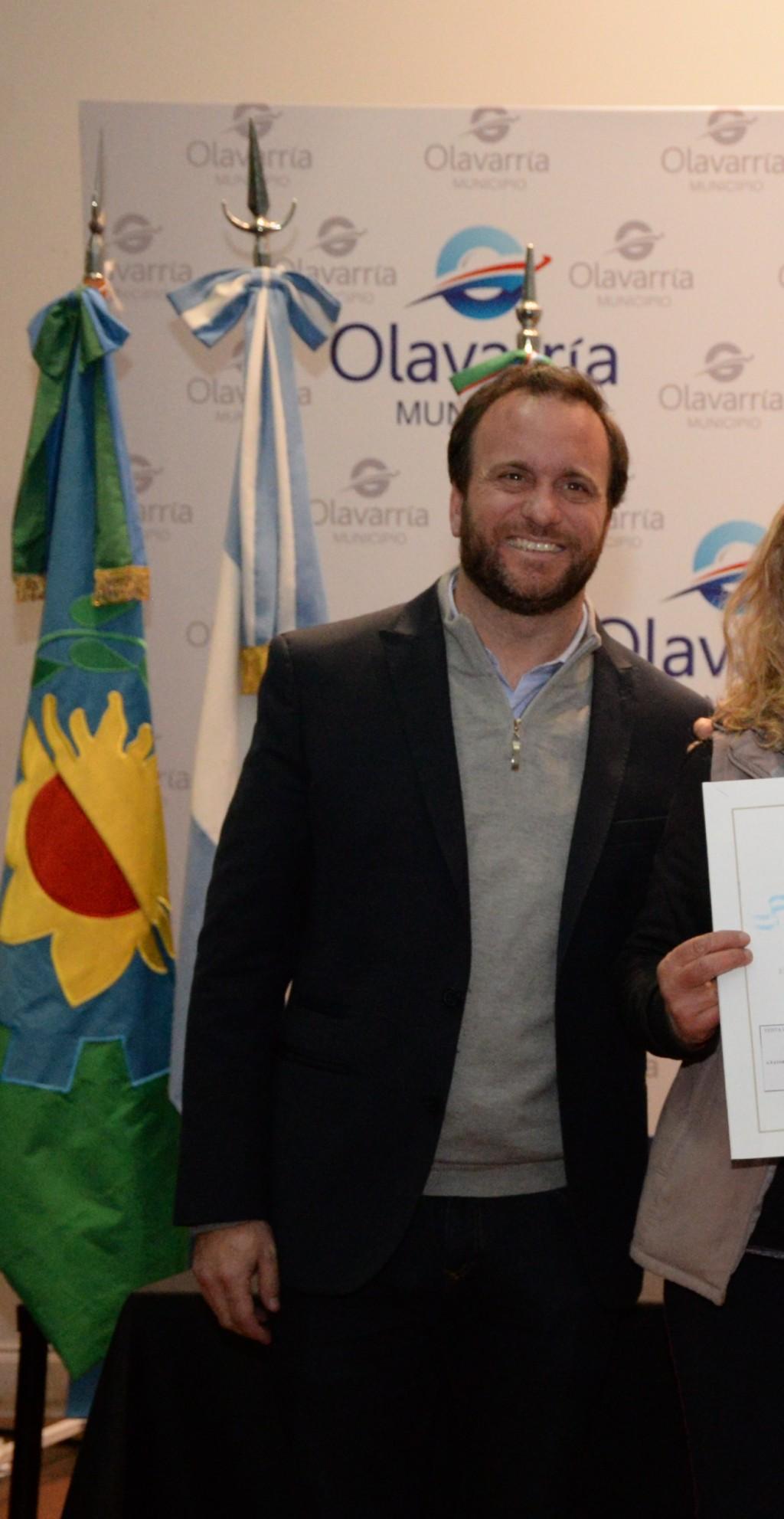 El ministro de Asuntos públicos de la Provincia pasó por Olavarría