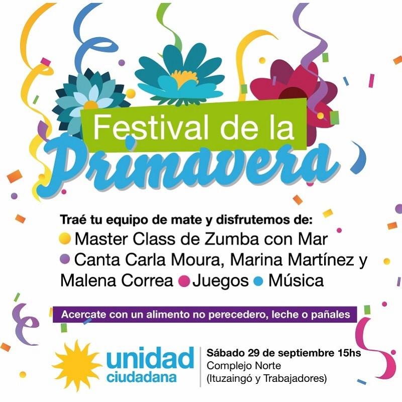 Unidad Ciudadana organiza el 'Festival de la Primavera'