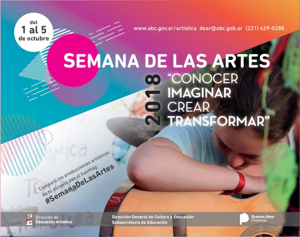 Semana de las Artes: 'se busca trabajar desde propuestas innovadoras'