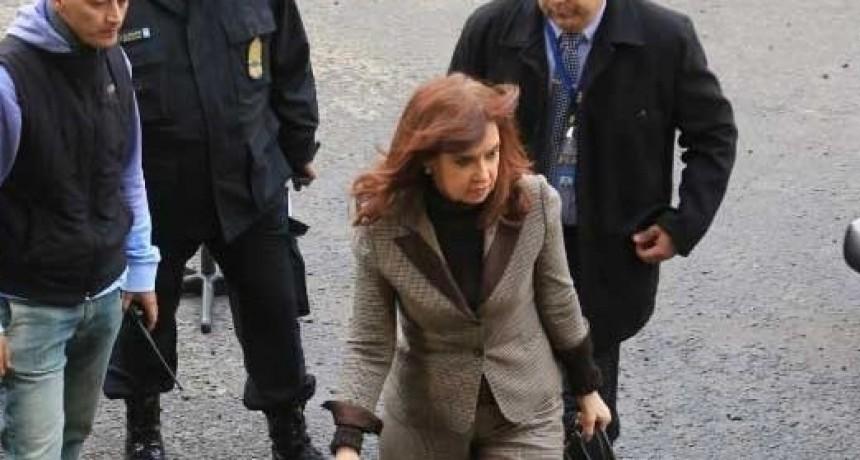 La ex Presidenta ante el Juez Bonadío