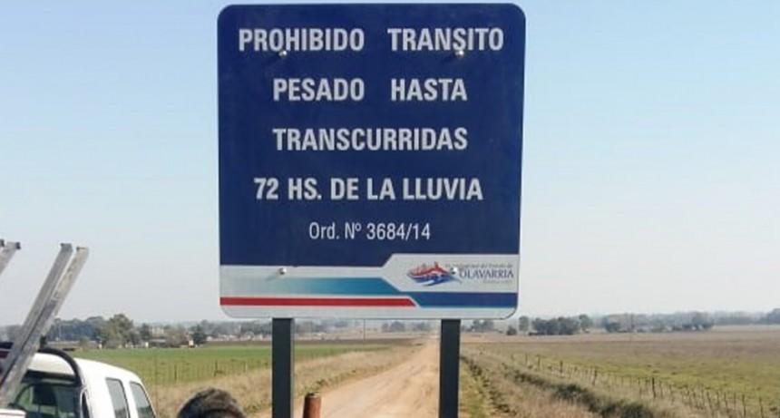 Se realizó la instalación de cartelería en las localidades