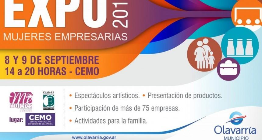 Expo Mujeres Empresarias: este fin de semana en el CEMO