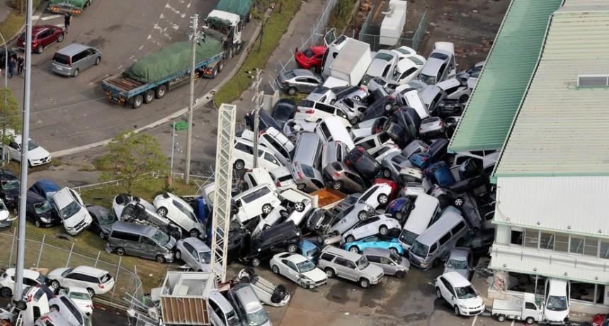 Tifón Jebi: 3000 pasajeros quedan varados en una isla artificial de Japón