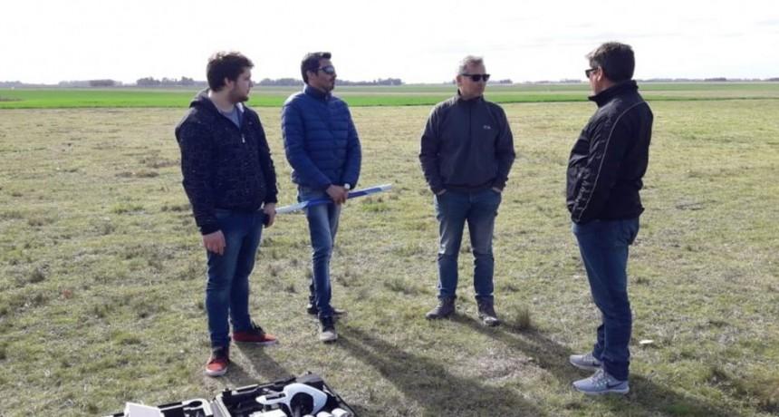 Capacitación en manejo de drone para personal municipal