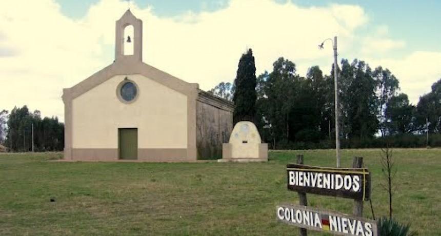 Avanza la reparación de la iglesia de Colonia Nievas