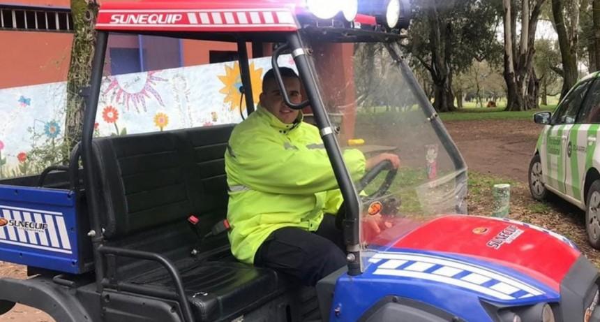 Más seguridad en el parque