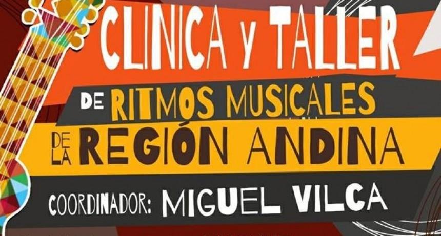 Clínica de ritmos musicales andinos