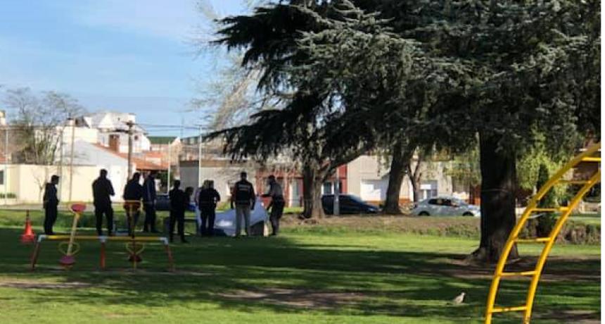 Una mujer fue hallada sin vida en el parque Mitre