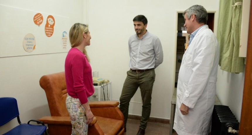 Mejoras en Maternidad y Pediatría del Hospital Municipal