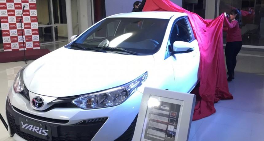 Toyota presentó un nuevo modelo