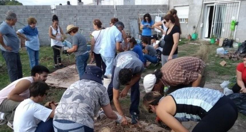 Gran convocatoria en la Huerta Agroecológica Familiar