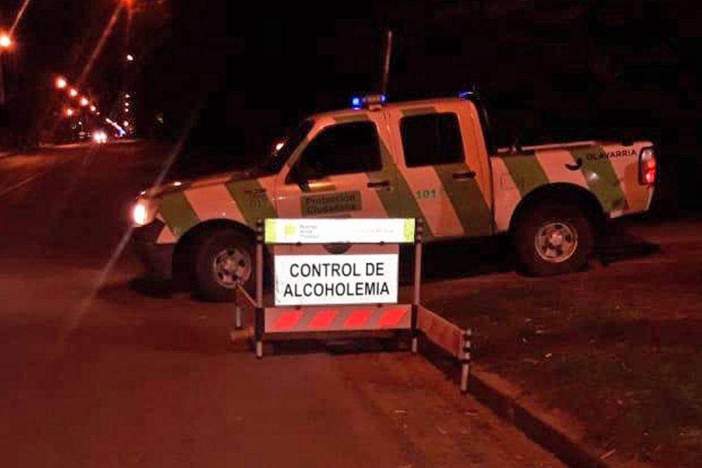 Sanciones por alcoholemia positiva en la última semana de agosto