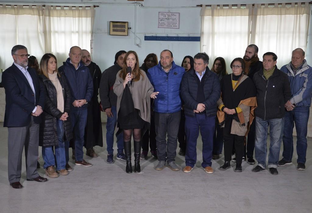Vidal anunció un paquete de medidas sociales y de acompañamiento para pymes
