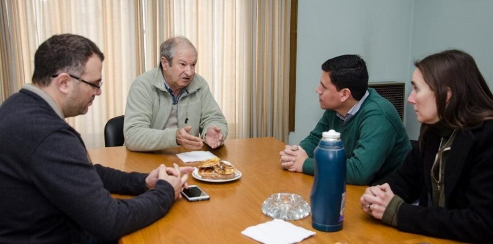 La Cooperativa Agropecuaria e Industrial de Olavarría recibió a Aguilera