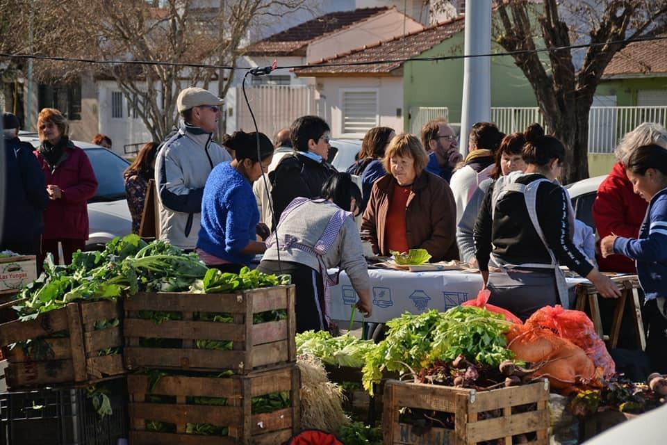 Domingo: El Mercado en tu Barrio en Del Valle y Brown