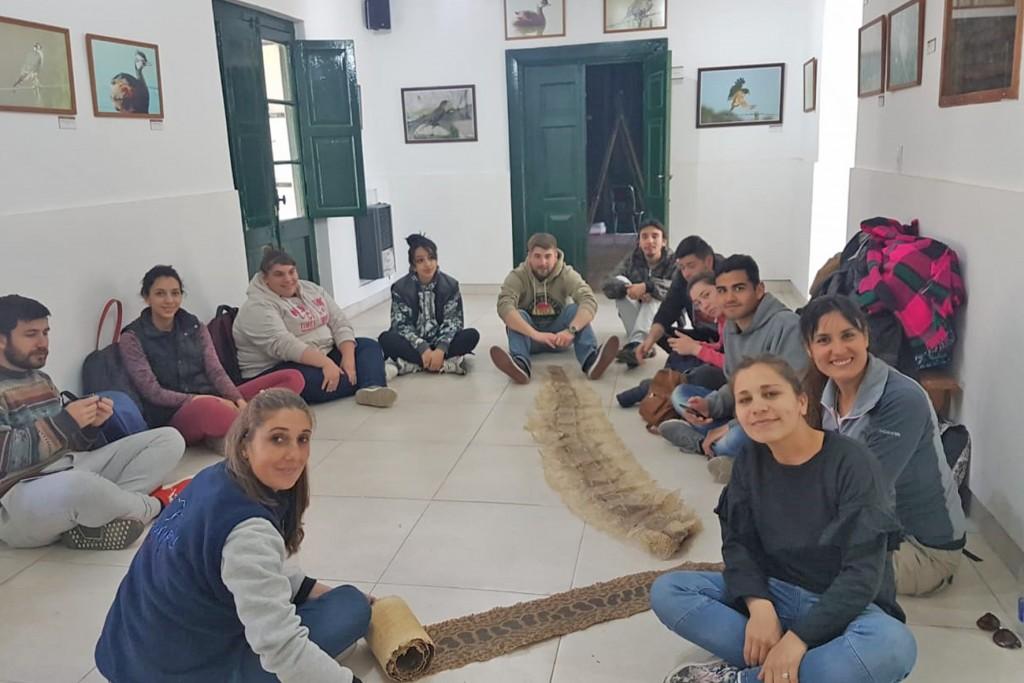 Hay encuentros educativos para la conservación de la naturaleza en La Máxima