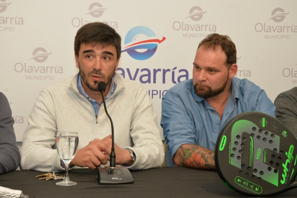 Presentaron la Copa Ciudad Olavarría de pádel