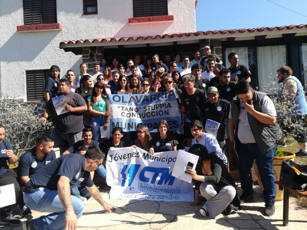 Municipales olavarrienses en Encuentro de Jóvenes
