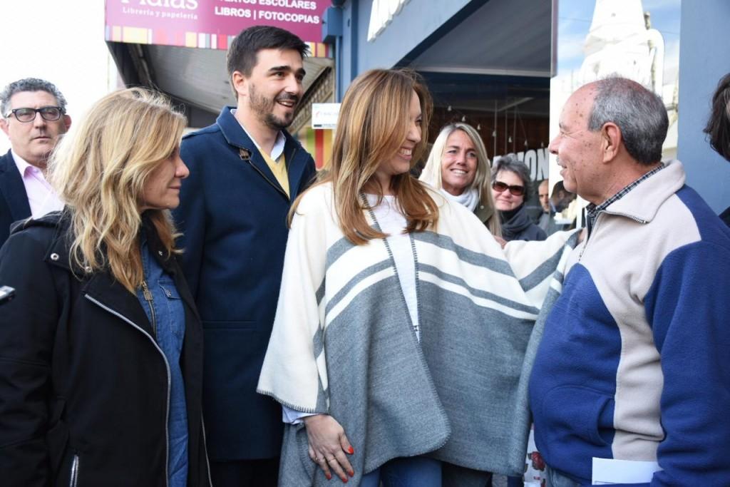 La diputada Lordén acompañó a Vidal en Azul y Olavarría