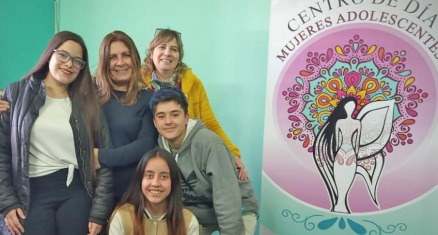 Nuevo emprendimiento productivo del centro de día Mujeres Adolescentes