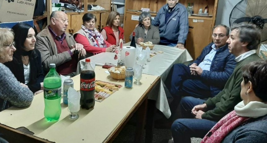 General Alvear: El Intendente Capra y el Director Regional de PAMI se reunieron con la Comisión Directiva de la Asociación de Jubilados