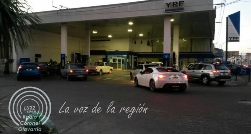 Combustibles: Ya hay nuevos precios descongelados en Olavarría