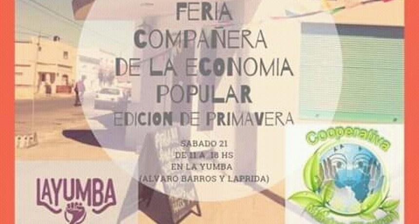 Feria de la Economía Popular en La Yumba