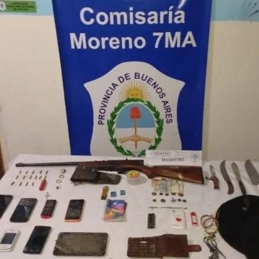 Detienen a 5 jóvenes internados en Cumelén por múltiples robos en la Provincia