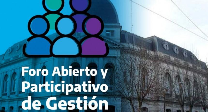 """Aguilera presenta el primer """"Foro abierto y participativo de gestión"""""""
