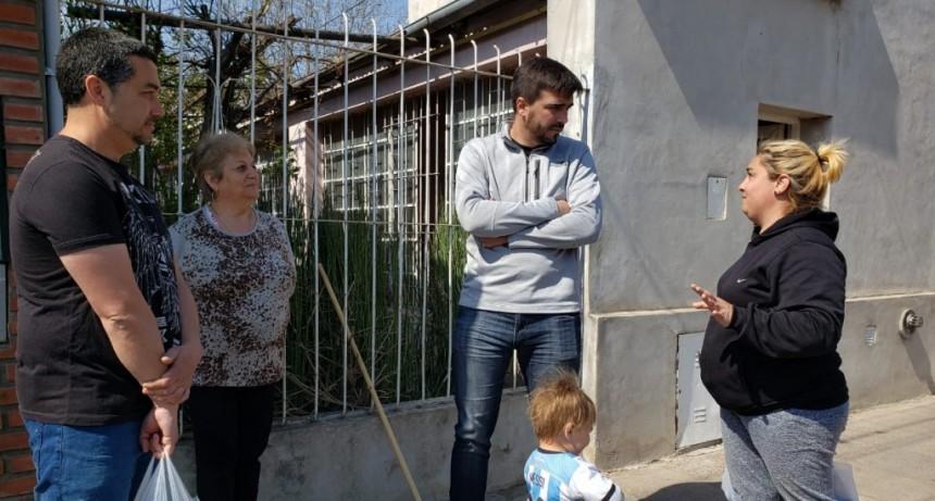 """Ezequiel Galli: """"Vamos a colocar cámaras de seguridad en las localidades"""""""
