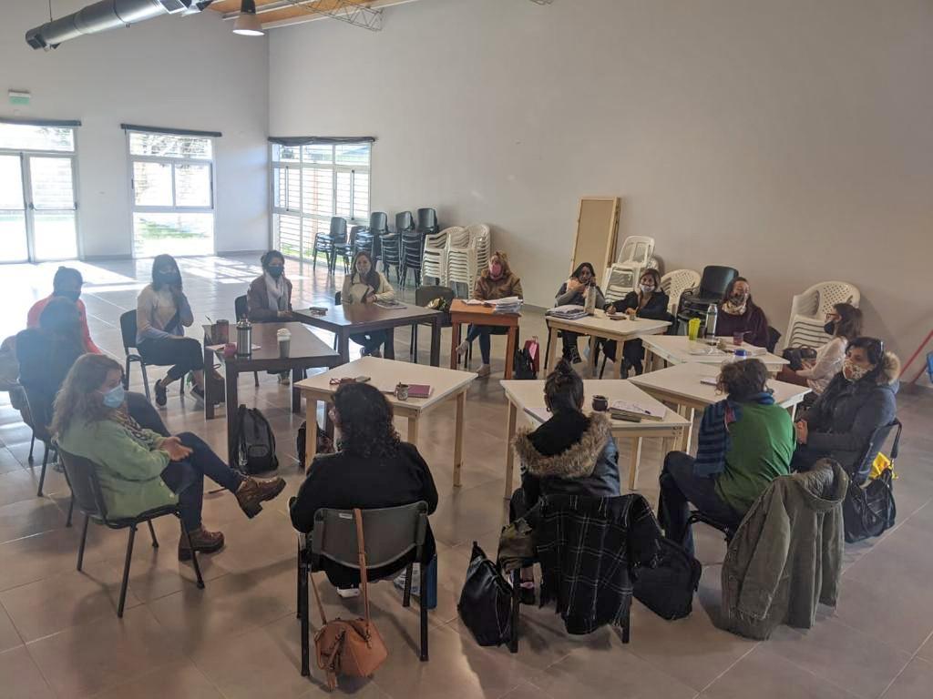 Reunión de género en el Servicio Territorial Municipal N°4