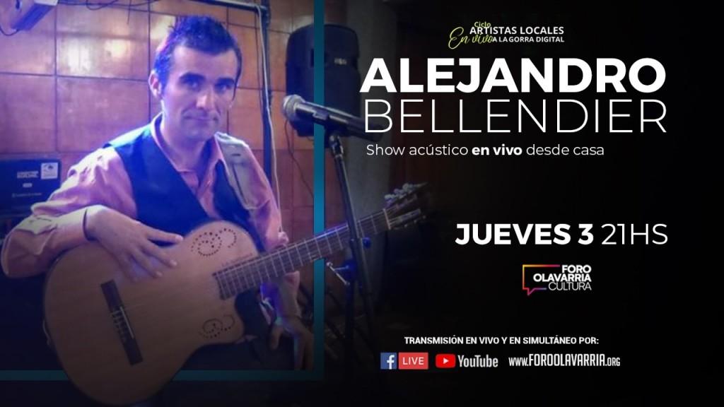 Alejandro Bellendier en VIVO por las redes del Foro Olavarría