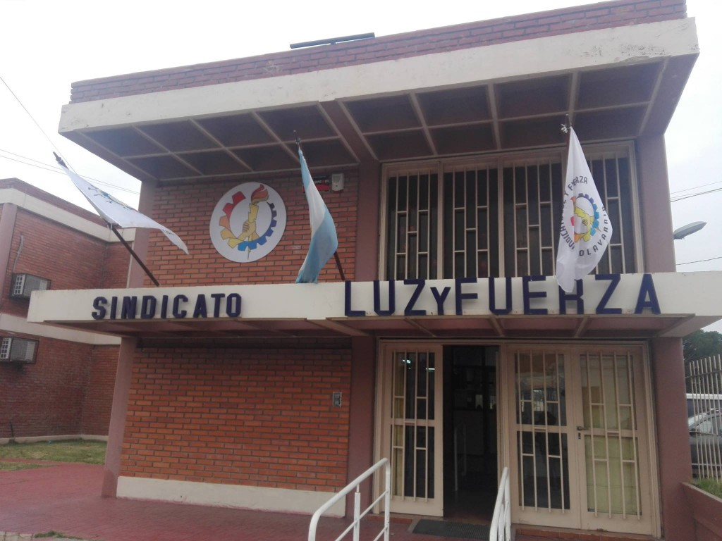 Luz y Fuerza Nacional apoya las medidas tomadas por el gremio local