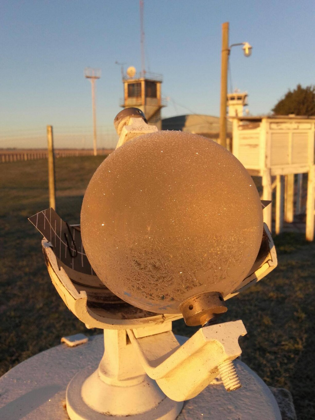 La Estación Meteorológica Olavarría cumple 33 años