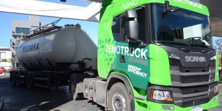 La empresa Pascua pudo testear  un Scania a GNC