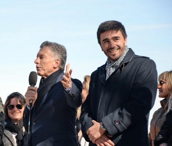 Hubo un operativo en la quinta donde Macri se reunió con el intendente Galli