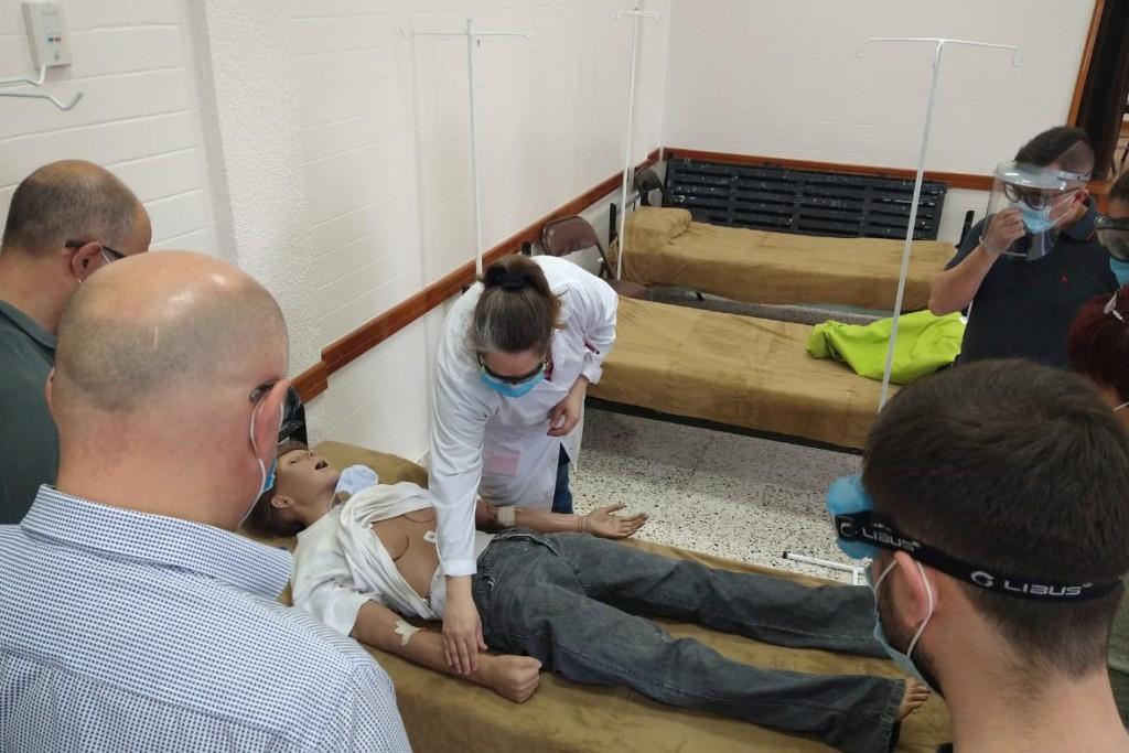 Comenzó un nuevo curso de actualización en emergencias y urgencias
