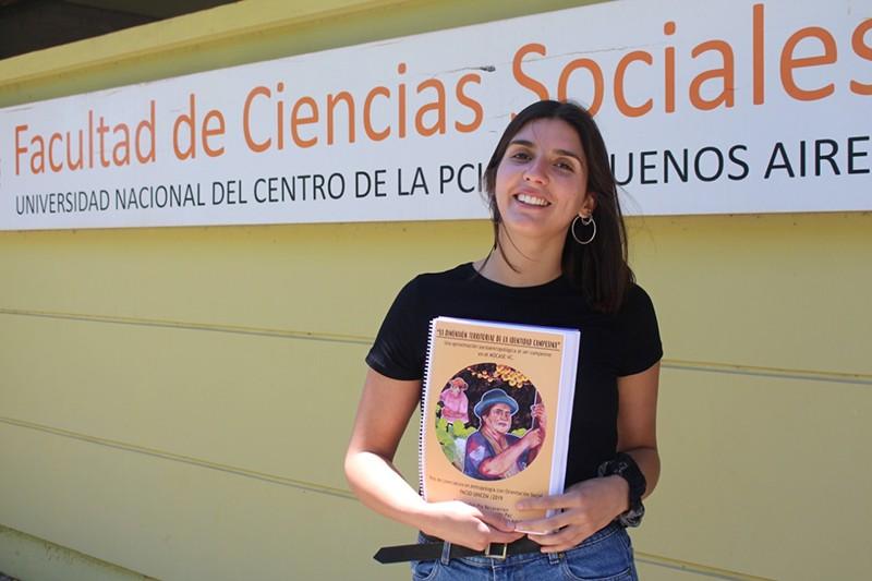 Graduada de Ciencias Sociales becada por segunda vez en Europa