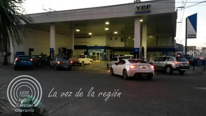 En Olavarría, YPF aumentó sus precios cerca del 5%