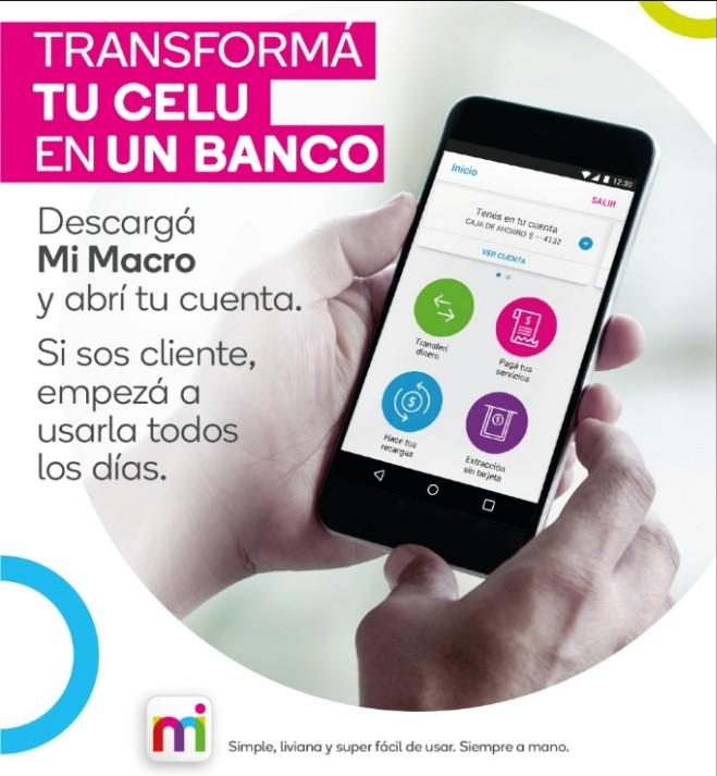 Banco Macro lanzó Mi Macro
