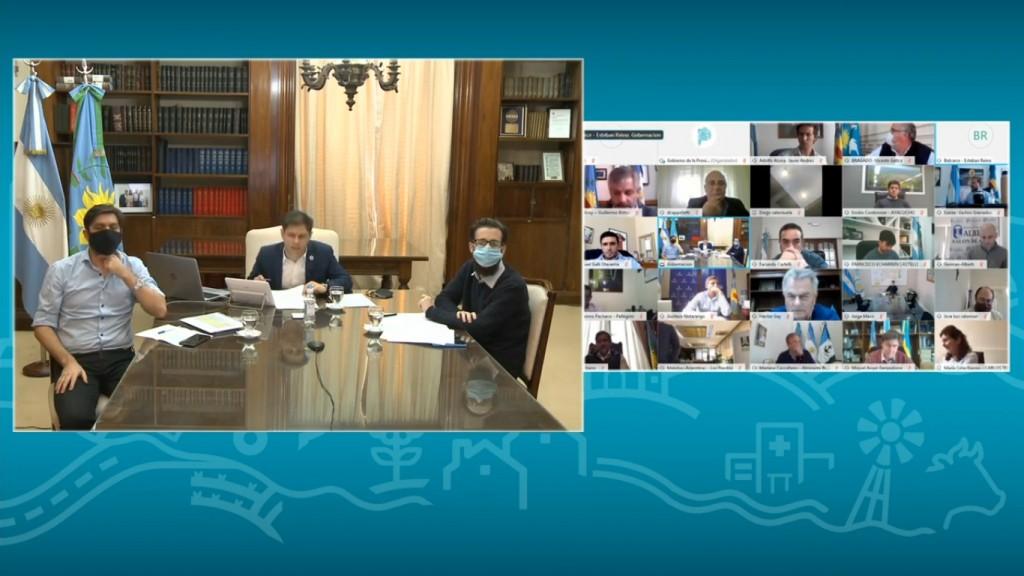 Kicillof anunció el FIM para Olavarría y otros 43 municipios
