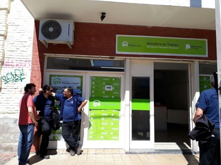 Por caso de coronavirus, cerraron la Delegación Local del Ministerio de Trabajo
