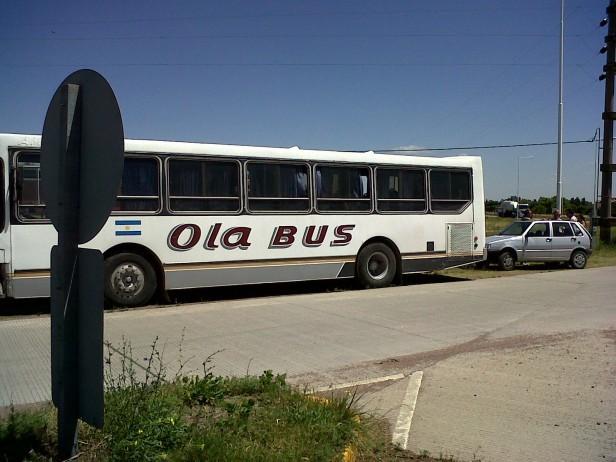 Choferes de Ola Bus esperan una solución salarial para las próximas horas
